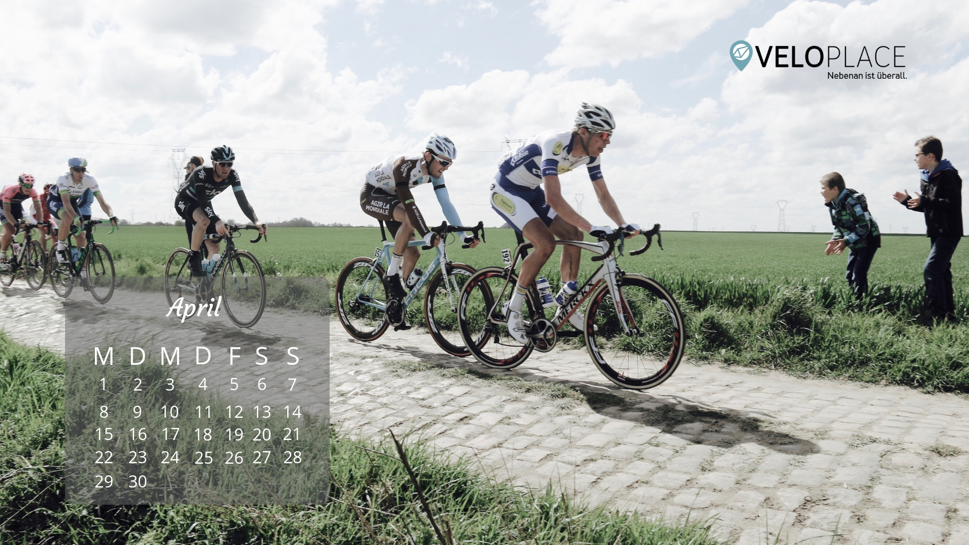 Veloplace Wallpaper April 2019